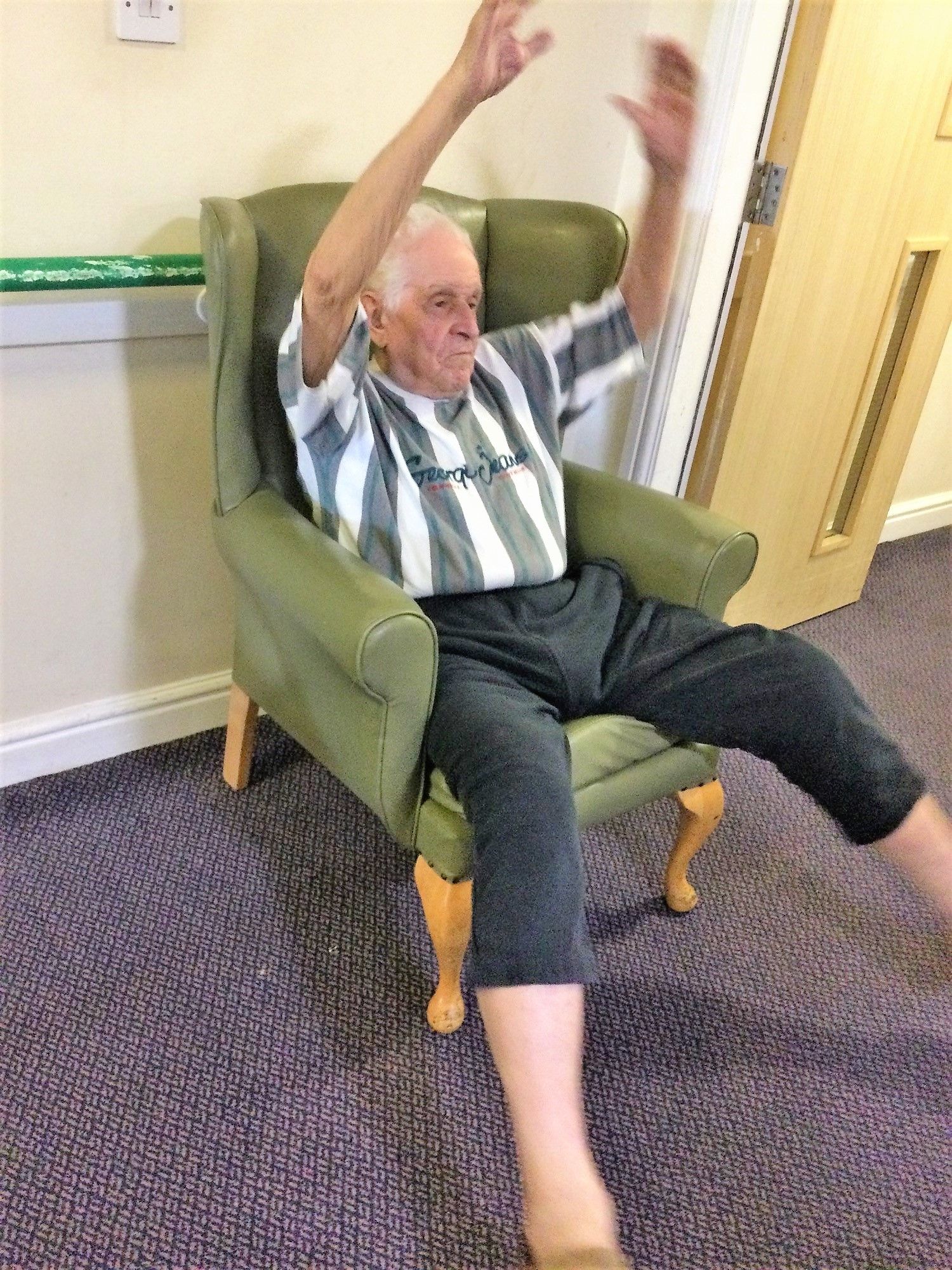 Armchair exercise